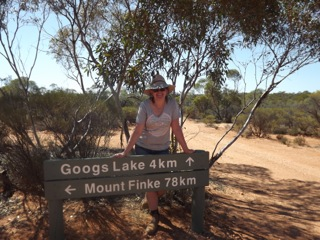 Googs Lake / Mount Finke intersection and me...